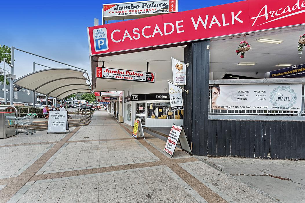 Commercial Properties for Lease | Shops 8 & 9 'Cascade Walk' 6 Stockton Street, Nelson Bay NSW 2315